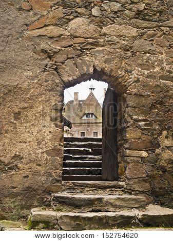 Czocha Castle -defensive castle in the Czocha village. Poland