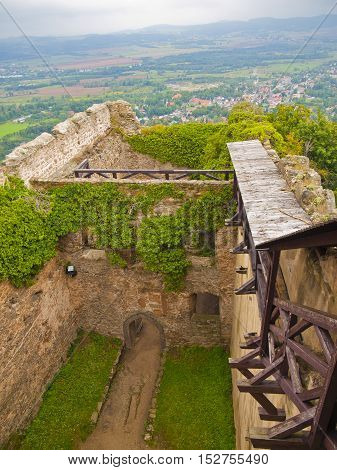 Chojnik Castle - picturesque castle on top of the Chojnik mountain