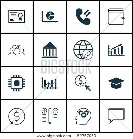 Set Of 16 Universal Editable Icons For Airport, Human Resources And Computer Hardware Topics. Includ