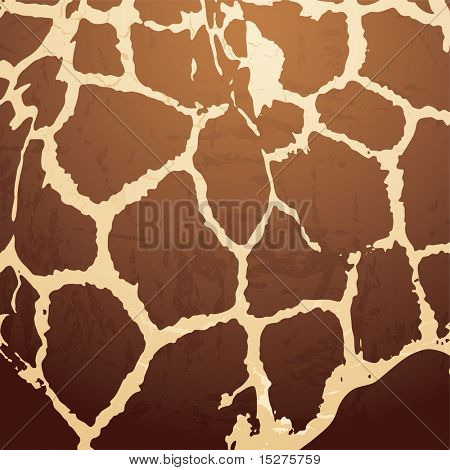 brown Animal skin background with a textured effect