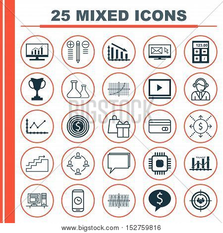 Set Of 25 Universal Editable Icons For Human Resources, Airport And Seo Topics. Includes Icons Such