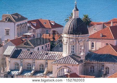 Cathedral of the Assumption of the Virgin Mary in Dubrovnik, Croatia