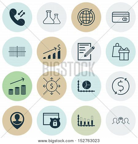 Set Of 16 Universal Editable Icons For Airport, Human Resources And Statistics Topics. Includes Icon