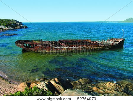 Ship Wreck, Langebaan, Cape Town South Africa 12ab