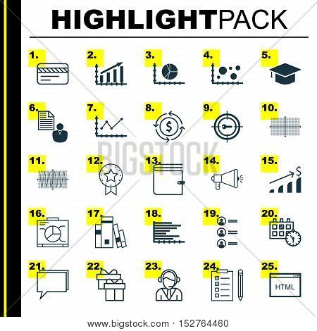 Set Of 25 Universal Editable Icons For Hr, Education And Travel Topics. Includes Icons Such As Codin
