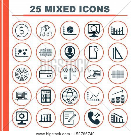 Set Of 25 Universal Editable Icons For Travel, Hr And Airport Topics. Includes Icons Such As Fail Gr