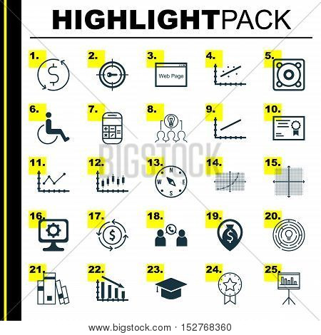 Set Of 25 Universal Editable Icons For School, Traveling And Human Resources Topics. Includes Icons