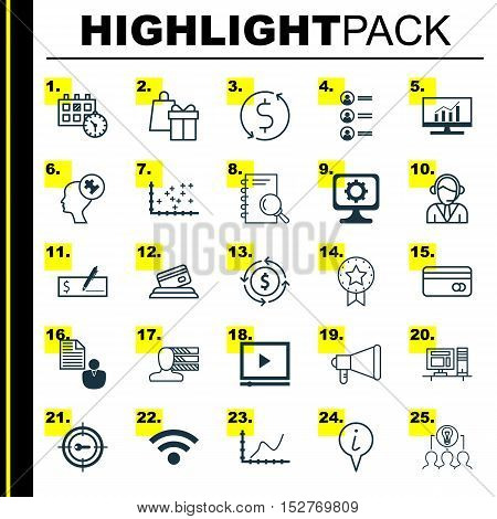 Set Of 25 Universal Editable Icons For Transportation, Tourism And Statistics Topics. Includes Icons