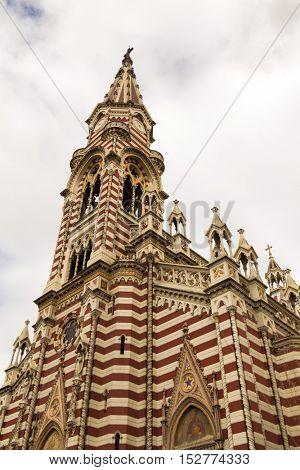 El Carmen Church in Bogota, Colombia
