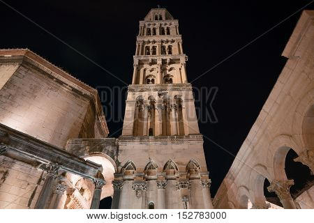 Cathedral of St Domnius near Diocletian Palace, Split, Croatia