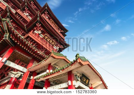 Beijing's Chinese ancient architecture ancient religious sites.