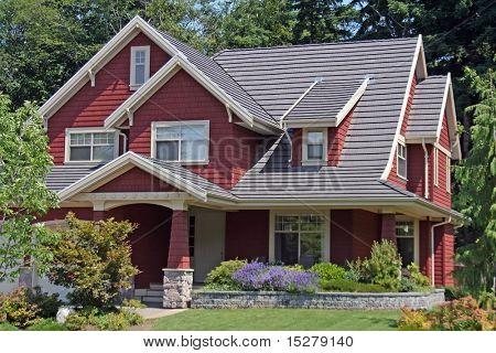 New upscale house