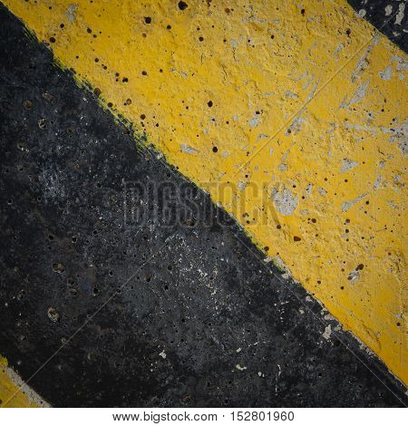 Black And Yellow Traffic Sign Warning Background