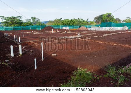 House Building Foundations
