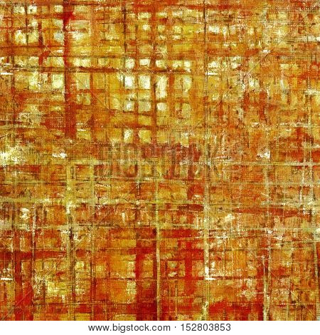 Vintage background - dirty ancient texture. Antique grunge backdrop with different color patterns: yellow (beige); brown; red (orange)