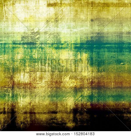 Distressed texture, faded grunge background or backdrop. With different color patterns: yellow (beige); brown; green; blue; cyan