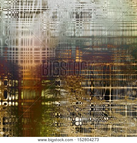 Old, grunge background or damaged texture in retro style. With different color patterns: yellow (beige); brown; gray; green; red (orange); purple (violet)