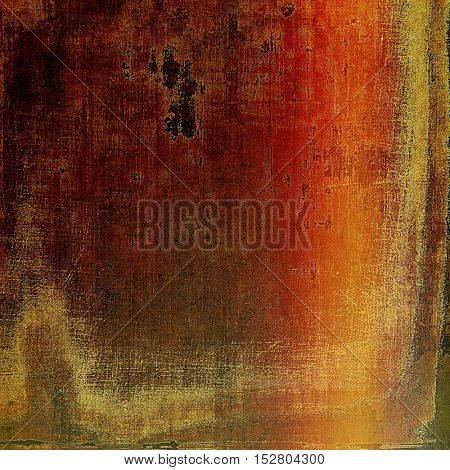 Abstract vintage colored background. With different color patterns: yellow (beige); brown; gray; red (orange)