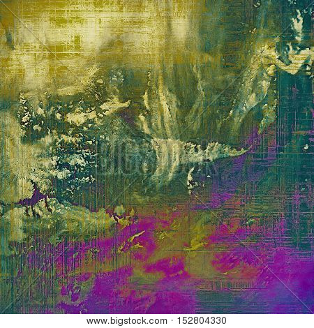 Elegant vintage background, antique texture. Designed grunge template with different color patterns: yellow (beige); brown; green; purple (violet); pink; cyan