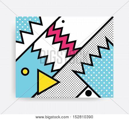 Colorful Pop Art Pattern