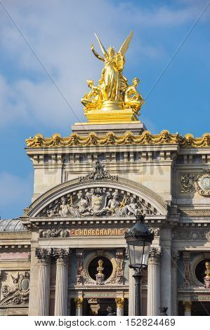 The Palais Garnier is the most famous opera house in the world a symbol of Paris France