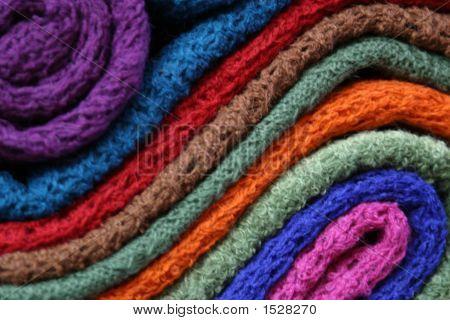 Bufandas de alpaca
