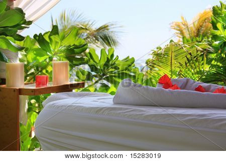 Tropical massage setting