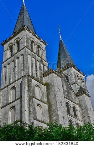 Barentin France - june 22 2016 : the Saint Martin church