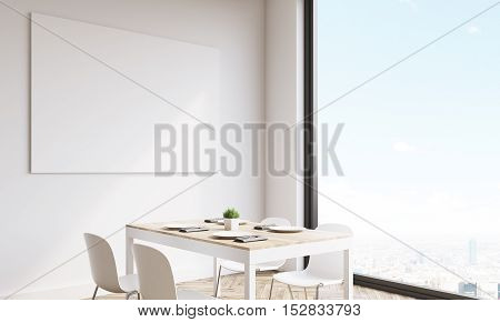 Side View Of Kitchen Poster