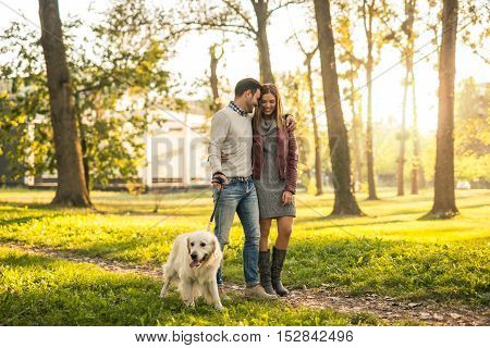 Relaxing Walk In The Park