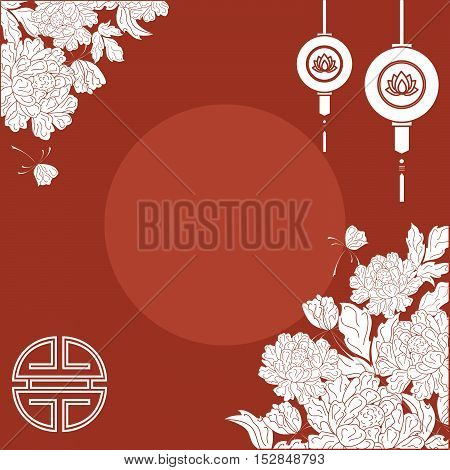 illustration on the theme of the holiday - Chinese new year.