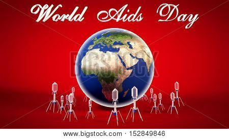 World Aids Day 2016 Background, Aids Virus, Hiv