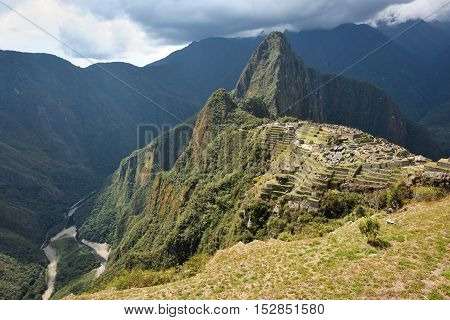 Machu Picchu Unesco World Heritage site and New 7 Wonder of the world