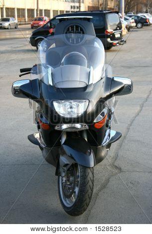 Beautiful Big Brilliant Motorcycle.