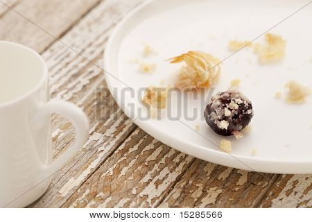 Dessert Gone - Pastry Crumbs