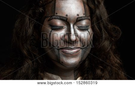 Smiling Women Face