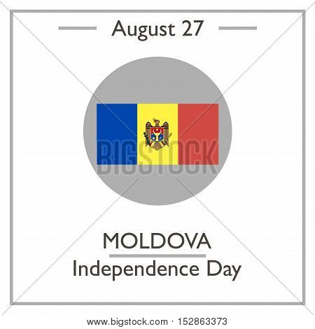 Moldova Independence Day, August 27