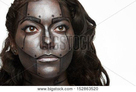 Bodyart Painted Face