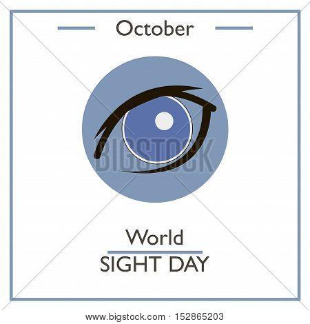 World Sight Day, October