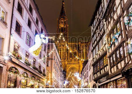 Christmas time in Strasbourg, France