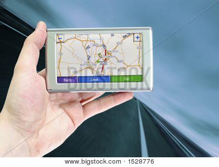 GPS pantalla