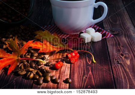 Still Life With Coffee And Cookies