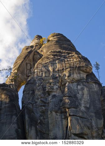 Adrspach - Rock City - massif in the Central Sudetes, Czech Republic