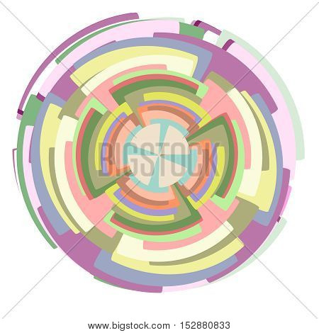 Circle set. Vector illustration Corporate, Media, Technology styles vector logo design template. transparent