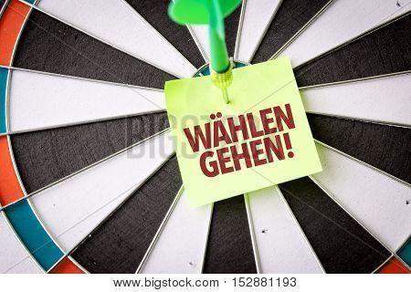 Vote (in German)