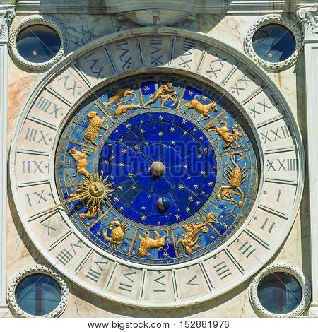 Decoration Elements At Roof Of Basilica San Marco In Venice, Ita