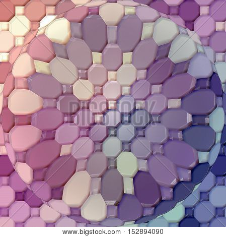 Abstract coloring background of the abstract gradient with visual mosaic,illusion, spherize,plastic wrap  and pinch effects