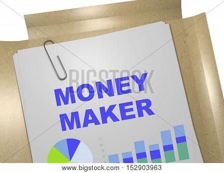 Money Maker - Business Concept