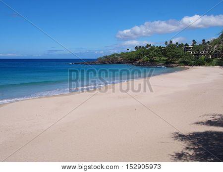 Hapuna Beach State Park in Big island