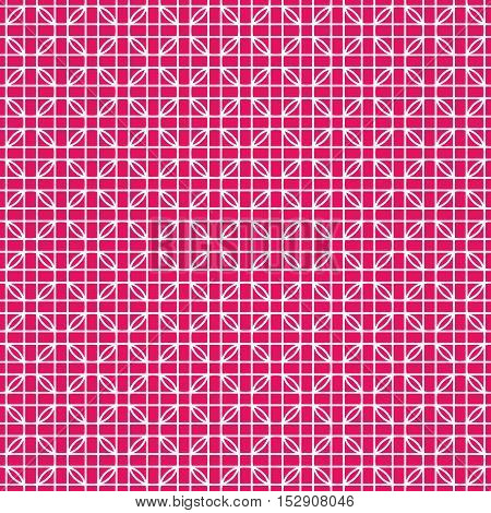 Weaving, Seamless vector illustration, hot pink, web